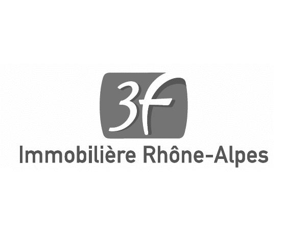 Logo immobilier 3F Rhône-Alpes
