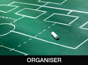 Organiser communication