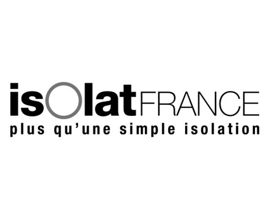 Logo isolation Isolat France