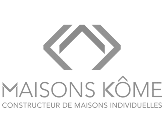 Logo constructeur maisons Kôme