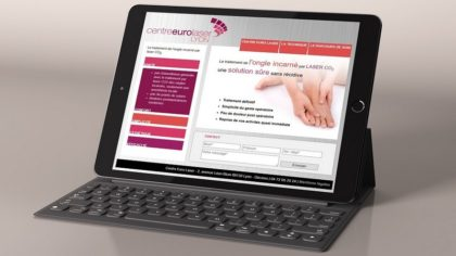 Web santé - Design