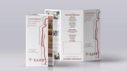 Plaquette santé-esthétique Lyon