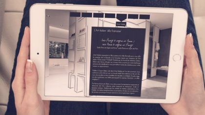 Web rédaction spécifique luxe maison décoration Rhône-Alpes