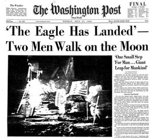 La Créativité USA JFK Lune