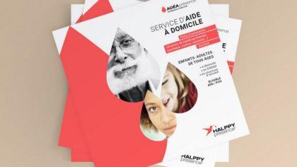 Rédaction de la plaquette de présentation - offre Adéa Présence